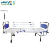 تخت بیمارستانی معمولی دو شکن ABS